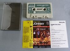 CASSETTE K7 AUDIO TAPE JOHNNY HALLYDAY LIVE PUBLIC 81 DOUBLE DUREE