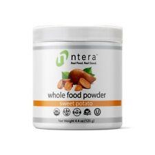 NTERA Sweet Potato Whole Food Powder USDA Organic, Gluten-Free, Non-GMO