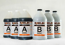 Roklin Systems Inc. PolyFlex DS Concrete Crack Repair, 3-Gal Kit, Grey
