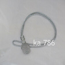 WW2 German Army Silver Sword Knot 48 cm Portepee Repro