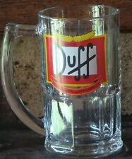 GLASS CHOPP Duff real Beer made in ARGENTINA