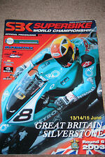 SBK SUPERBIKE PROGRAMME JAMES TOSELAND CHRIS WALKER HONDA CBR600RR CHILI  2003