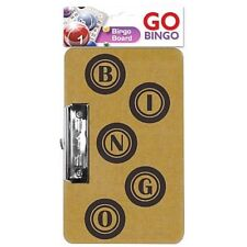 Bingo Game Board Metal Clip Hanging Clasp 24 cm x 15cm