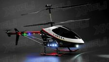"New UDI U12A RC 3 Channel Large Scale 30"" Metal RC Helicopter Electric w/Camera"