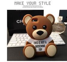 3D Bär Bear iPhone 5/5S Silikon Case Hülle Schutzhülle Tashe Backcover Neu