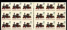 STATI UNITI - 1992 - Natale, francobollo in plastica in minifoglio di 18
