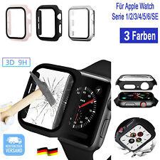 ⭐ Schutzhülle f Apple Watch iWatch 6 5 4 3 2 1 Cover Case Hülle Display Hartglas
