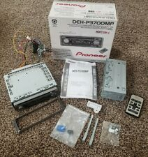 Pioneer DEH-P3700MP CD/USB/MP3 In Dash Receiver with Remote Housing Box
