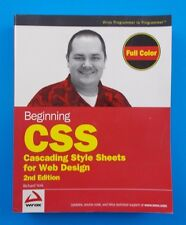 Beginning CSS: Cascading Style Sheets Web Design full color computer programing