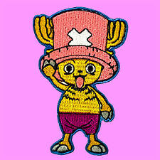 Chopper One Piece Deer  Comic Cartoon Anime Kids Embroidered Iron On Patch