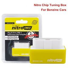 Nitro OBD2 Performance Chip Tuning Box Plug and Drive For Gasoline Petrol Cars