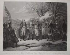 General Washington de Kalb Steuben Pulasky Kosciusko La Fayette Mühlenberg USA