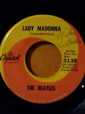 THE BEATLES Lady Madonna / The Inner Light - Original 2138 CAPITOL  - 45 Record