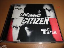 LAW ABIDING CITIZEN soundtrack CD PROMO cd-r BRIAN TYLER score OST jamie foxx