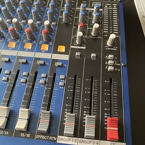 YAMAHA MG16/6 FX 16 Channel Mixer with 6 Buses and FX - Amazing Condition A1