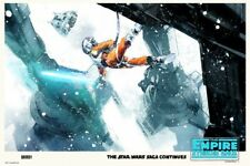 Star wars : The empire strikes back by Jock - Variant - Sold out Mondo print