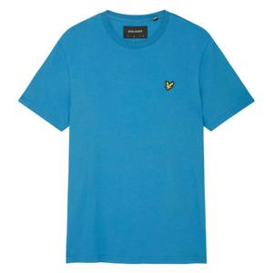 Lyle & Scott Mens Plain Crew Neck T-Shirt Yale Blue