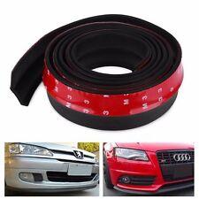 Paracolpi tuning in gomma dura per sottoscocca auto suv nero 2,5mt x 60mm
