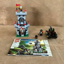 7948 Lego Complete Outpost Attack castle knights instruction book tower minifigs