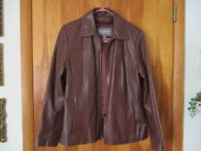 Wilson Leather Brown (S) Thinsulate Insulation Woman's Jacket