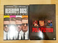 Pulp Fiction (2002, Collectors Edition) & Reservoir Dogs (1992, Special Edition)