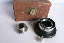 Leitz Wetzlar Leica Darkfield Microscope Condenser D 1.20 A in Box