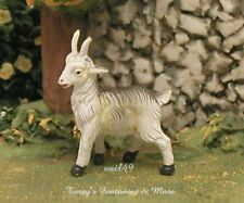 "Fontanini Depose Italy 2.5""Series 1.25""T White/Gray Goat Nativity Village Figure"
