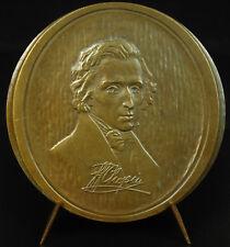 Médaille maison de F Chopin en Pologne village de Żelazowa Wola composer medal