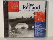 CD ALBUM Chefs d oeuvre de la chanson francaise LINE RENAUD CF 010  NEUF