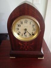 New ListingSeth Thomas Shelf Clock W/ Inlay