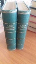 compendio di patologia chirurgica - prof.e.forgue - 2 volumi - 1919