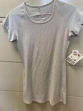 New Nos Fila Performa Womens Tennis Dress Short Sleeve Small Gray Made in Usa