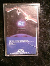 ~USED~ ET:The Extra-Terrestrial Original Motion Picture Soundtrack Cassette Tape