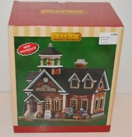 Lemax Oak Hill School Christmas Village Lighted Buildings 85343-New