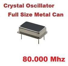 80.000Mhz 80.000 Mhz CRYSTAL OSCILLATOR FULL CAN ( Qty 10 ) *** NEW ***