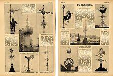 Die Wetterfahne ( mit ) 19 historischen Aufnahmen von 1910