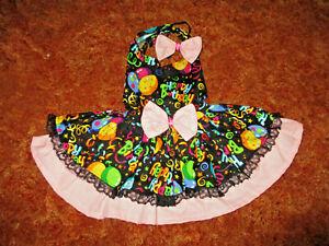 L  Dog dress [Birthday] cotton handcrafted