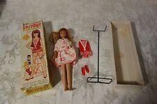 Vintage 1963 Skipper Barbie Doll Original Box and Extra Clothes