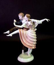 tanzendes Paar-  Hutschenreuther Kunstabteilung US Zone  - Malerei Entwurf
