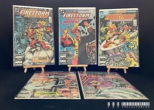 DC The Fury Of Firestorm Issues 39-43 (1985) Bagged & Boarded