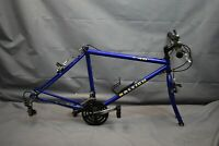 "1996 Raleigh M40 Mountain Sport MTB Frame 18.5"" Large Hardtail Canti USA Charity"