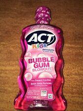 ACT Kids Anticavity Fluoride Rinse, Bubblegum Blowout, 16.9 oz Exp 11/2021