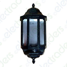 ASD HL/BK060C Half Lantern with Photocell Dusk to Dawn 60 Watt BC (Black)