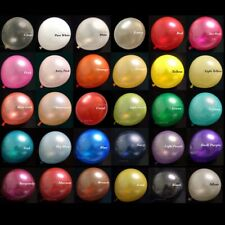 20x 12 inch Pearl Latex Colorful Thick Durable Wedding Party Birthday Balloons