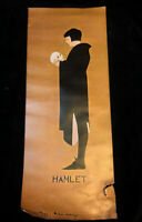 """Vintage Hamlet Poster Museum of the Theatre Munich Illustrated Art Poster 30"""""""