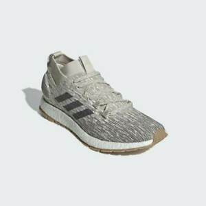 adidas Pureboost RBL Beige Black Running Water Repellant Winter Boost Size 14