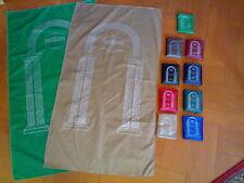 LOT of 100 Portable Prayer Rug Rugs Mat Muslim Islamic Ramadan Eid Gift هدايا