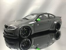 GT Spirit BMW M3 (E92) LB Performance Works Liberty Walk Grey Resin Model 1:18