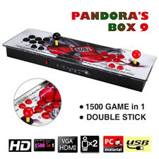 Pandora's Box 9 1500 in 1 Video Games 2 Player Arcade Console USB Support TV Red
