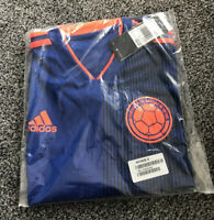 Adidas Colombia Away Football Shirt 2018/2019 - Adults Size Small S - New BNWT